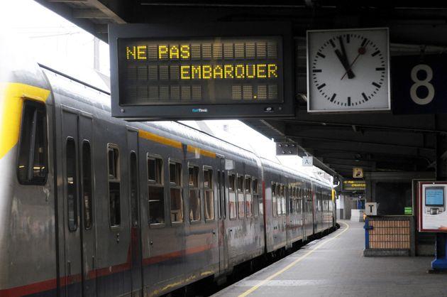 Photo d'illustration: la gare de Bruxelles Midi le 5 novembre