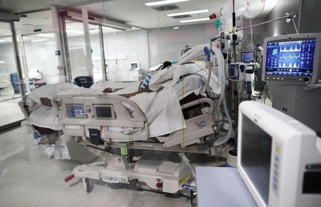 La UCI del Hospital Isabel Zendal, en