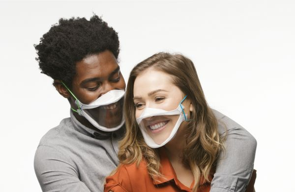 Face masks may save lives, but they can make communication difficult. If you want to make sure your valentine is safe while s