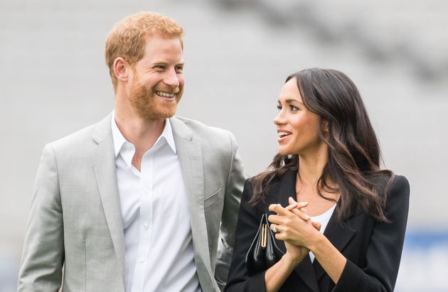 The Duke and Duchess of Sussex during a visit to Dublin July 11,