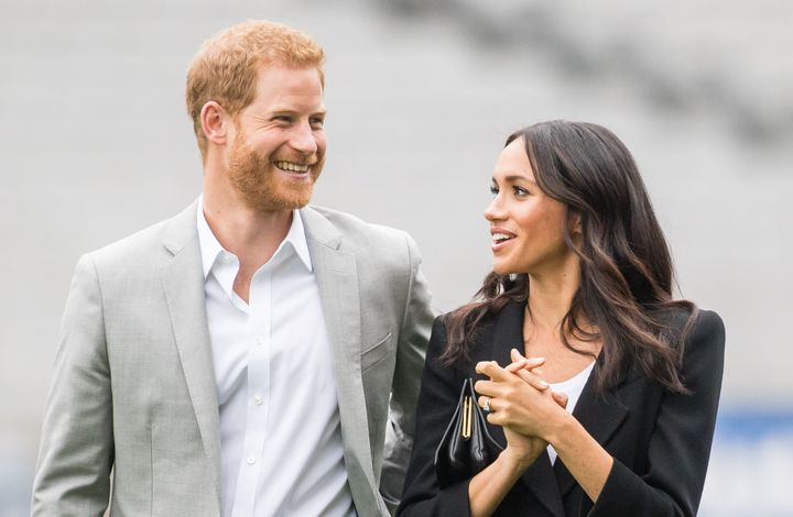 The Duke and Duchess of Sussex during a visit to Dublin July 11, 2018.