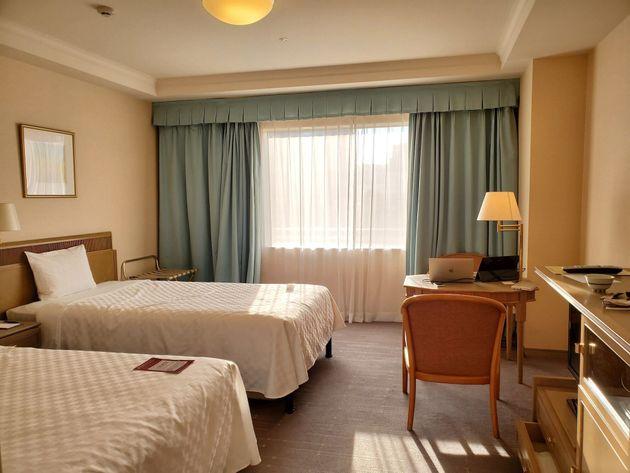 1部屋500円で使えるホテル客室。東京都の「サテライトオフィス」でリモートワークをしてみた