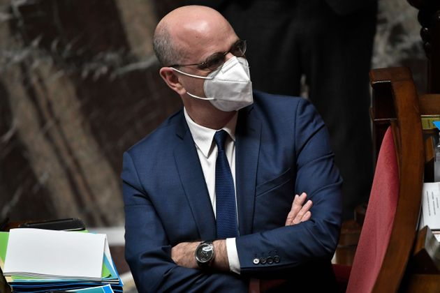 Jean-Michel Blanquer, ici photographié le 19 janvier à l'Assemblée nationale, à