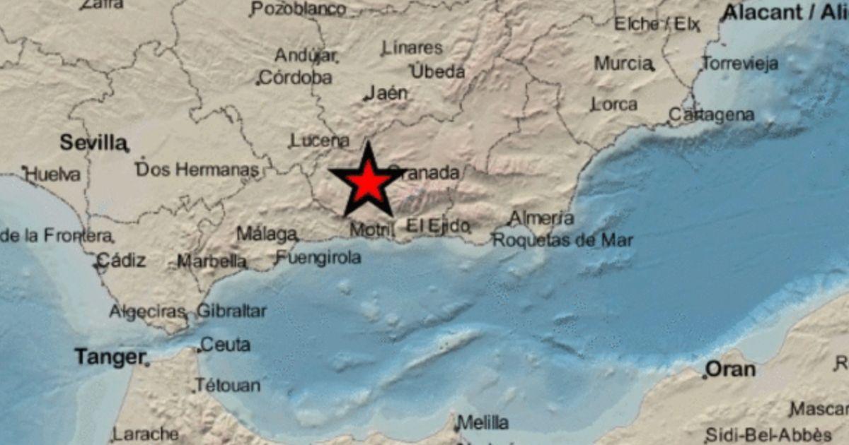 Un fuerte terremoto de magnitud 4,2 sacude Granada