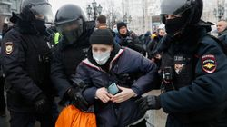Russian Police Arrest More Than 1,600 At Rallies In Support Of Kremlin Critic