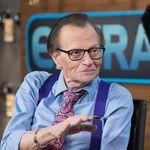 Légende de la télévision américaine, le journaliste Larry King est