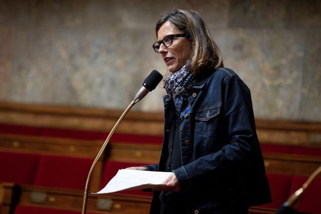 Emmanuelle Menard à l'Assemblée nationale