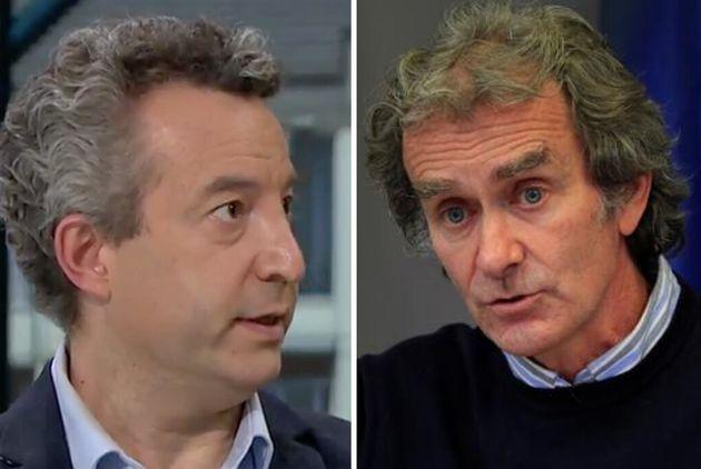 César Carballo y Fernando