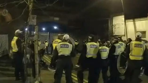 Watch Police Raid An Illegal Rave In East London Last