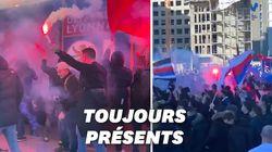 Covid ou pas, les supporters de l'OL encouragent leur équipe avant le derby contre