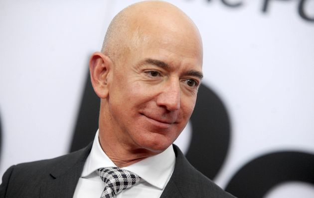 The world's the world's 10 richest people, including Amazon boss Jeff Bezos, added £394 billion...