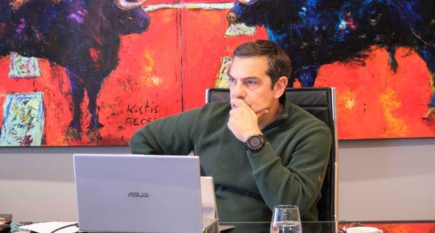 Σε προληπτική καραντίνα ο Αλέξης Τσίπρας – Θετικός στον κορονοϊό ο γιος