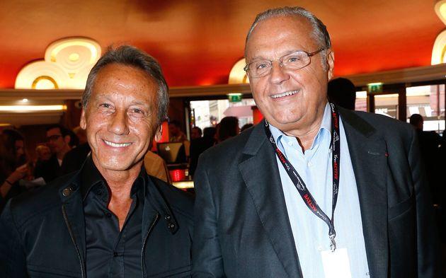 Gérard Louvin, à droite, et son mari Daniel Moyne sont visés par des plaintes pourviol...