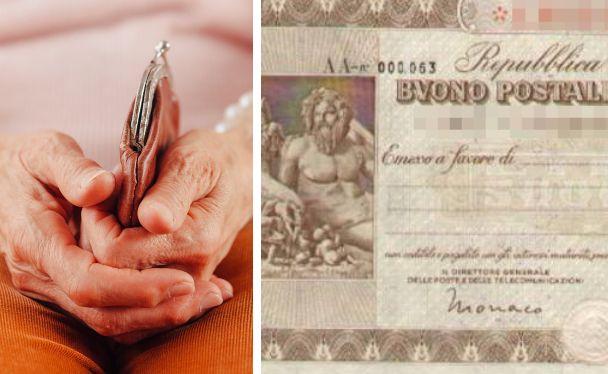 98enne batte il Covid e in isolamento trova in casa buono postale da 475 mila euro