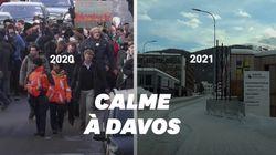 À cause du Covid-19, Davos calme comme jamais pendant le Forum économique