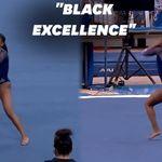 L'incroyable performance de cette gymnaste américaine a mis tout le monde
