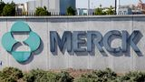 FILE- This May 1, 2018, file photo shows Merck corporate headquarters in Kenilworth, N.J.  Surging sales of cancer medicines and reduced spending helped Merck overcome a big hit from the coronavirus pandemic and increase its profit 12% in the second quarter. The  drugmaker on Friday, July 31, 2020,  increased its financial forecast for the year, all while it's investing in development of two experimental vaccines and a possible treatment for COVID-19.  (AP Photo/Seth Wenig, File)