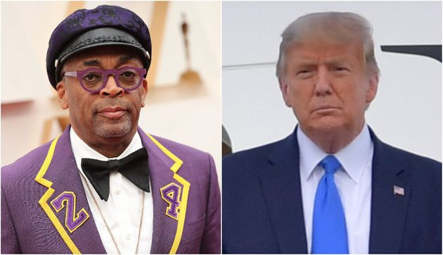 Spike Lee and Donald