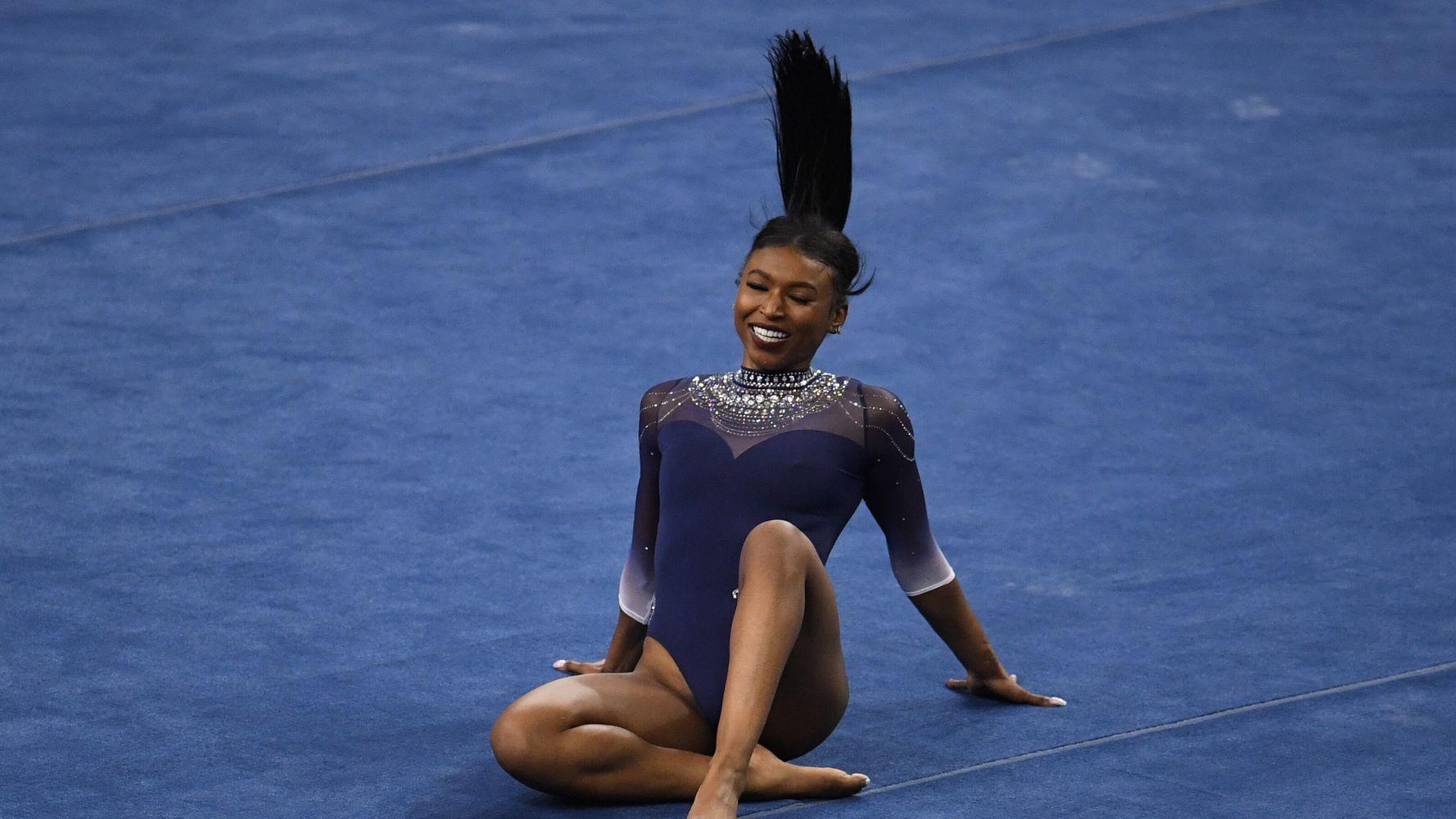 UCLA Gymnast Nia Dennis' Viral Floor Routine Was An Ode To Black Culture