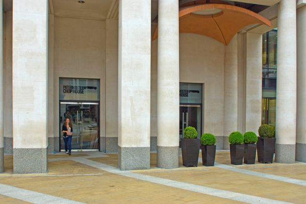 The Paternoster Chop House is situated in Paternoster Square beside St Paul's