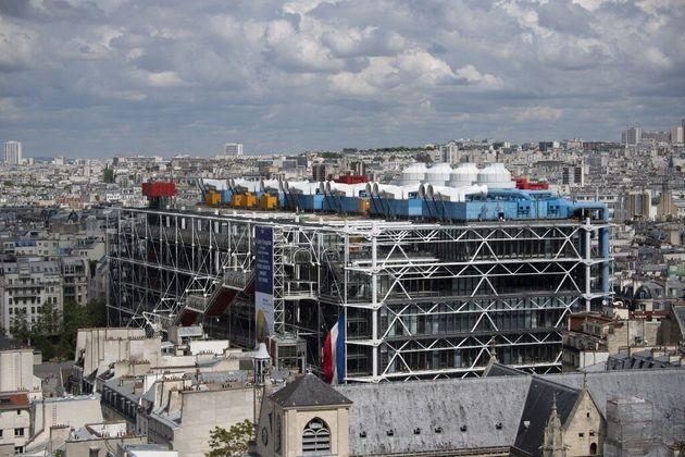 Le centre Pompidou va fermer pour 4 ans à partir de
