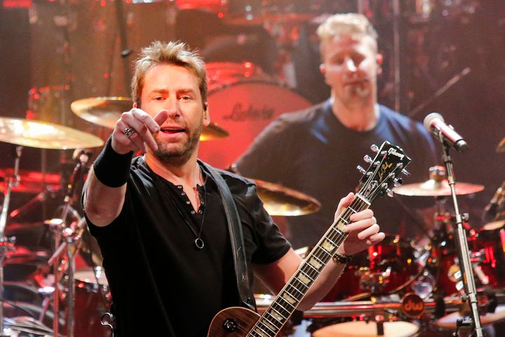 Nickelback performs on May 1, 2017 in New York.