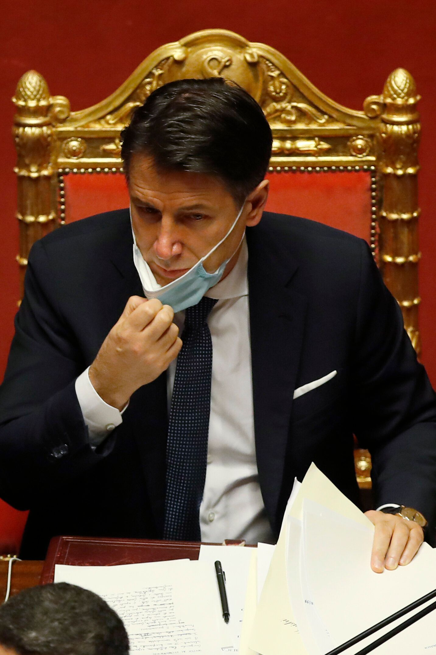 Italian Premier Giuseppe Conte To Offer Resignation As Government Wobbles