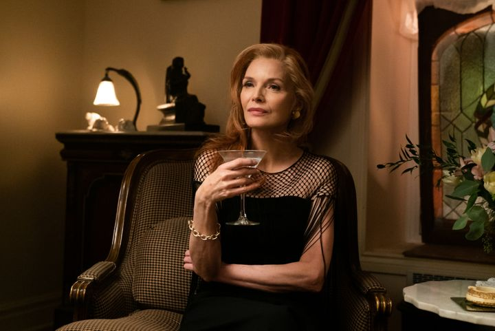 "Michelle Pfeiffer in ""French Exit."""