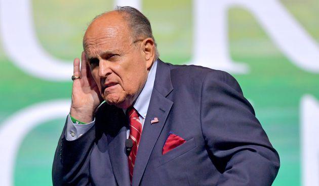 (photo d'archive de Rudy Giuliani le 19 décembre 2020 en