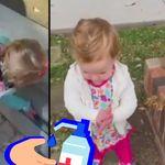 Le réflexe de cette petite fille décrit parfaitement nos obsessions face au