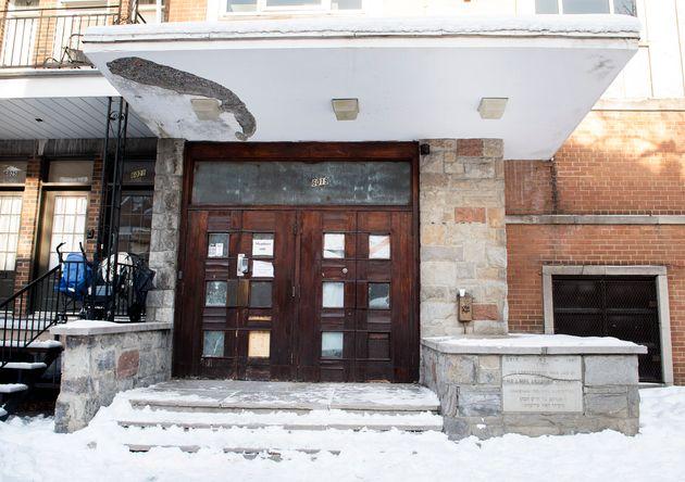 Des policiers sont intervenus dans une synagogue à Montréal durant le