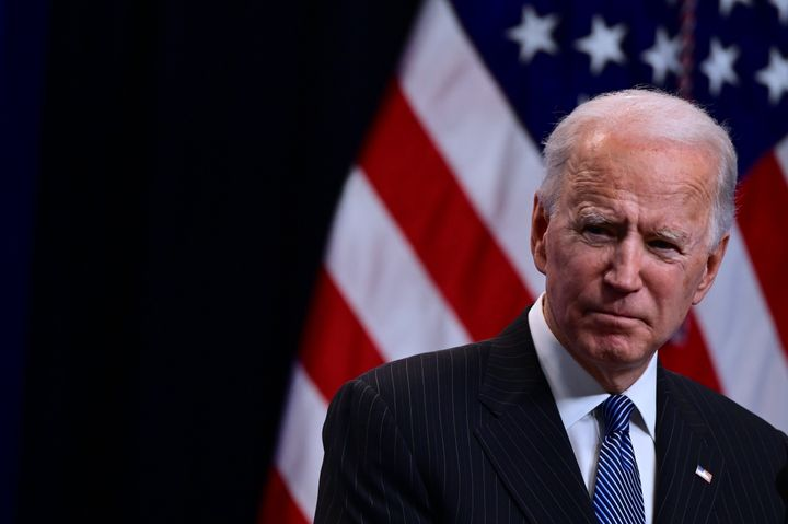 Biden has promoted policies to grow unions but has stayed out of the potentially historic Amazon union election.