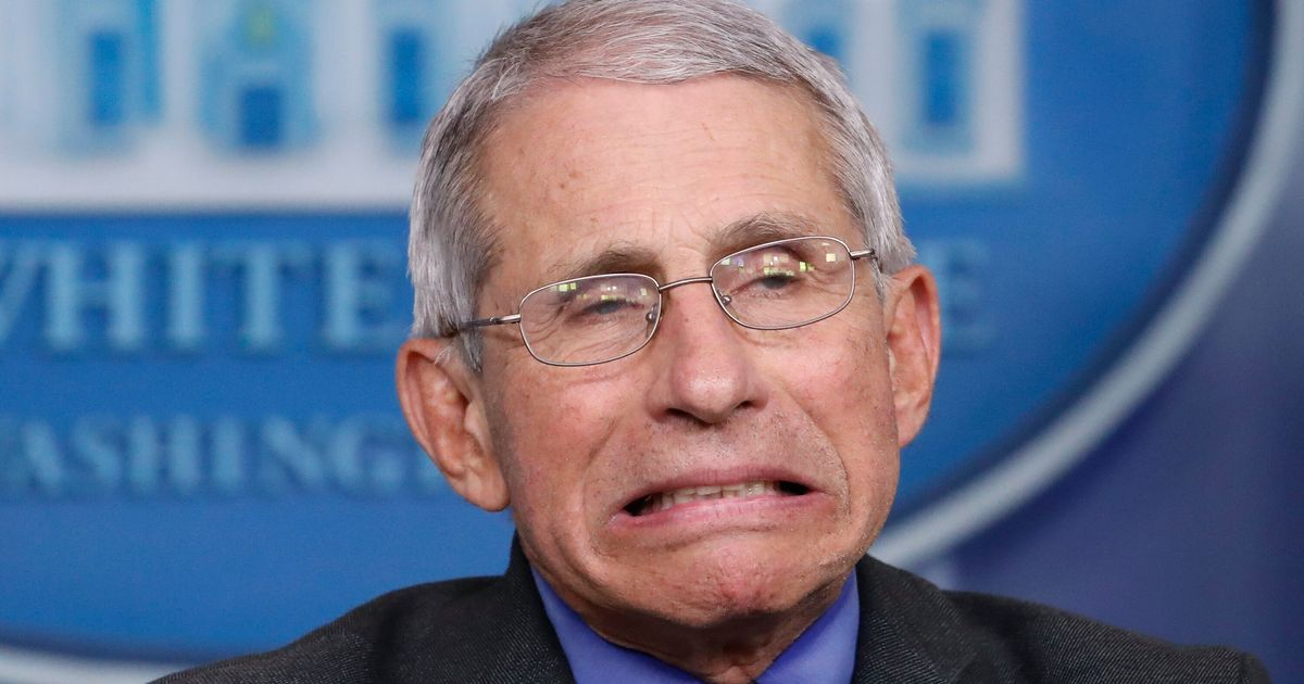 Anthony Fauci Finally Reveals What He Was Thinking When Trump Suggested Bleach
