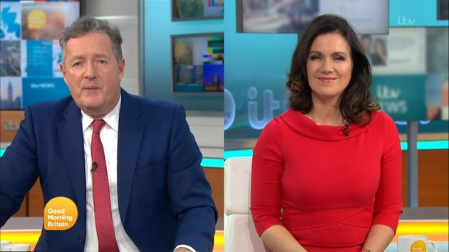Piers Morgan and Susanna