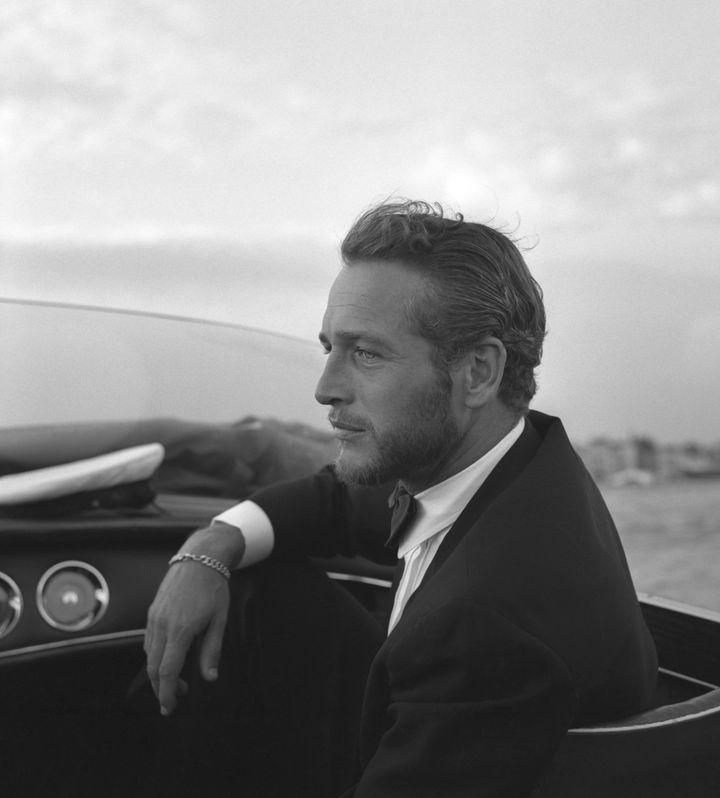 Paul Newman en Venecia en 1963.