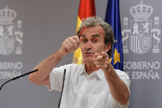 Fernando Simón, el pasado