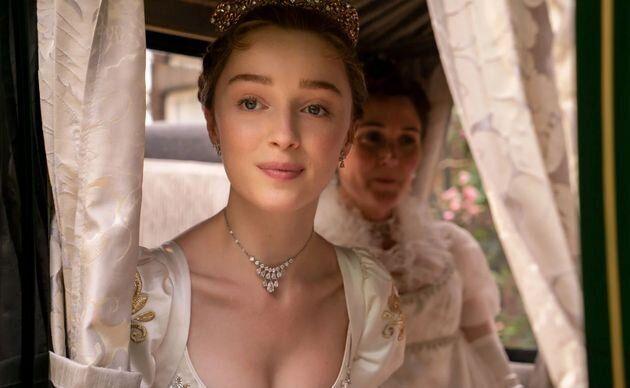 """Daphne Bridgerton, héroïne de la première saison de """"La chronique des Bridgerton""""."""
