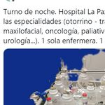Una enfermera de La Paz impacta al publicar su situación dentro del
