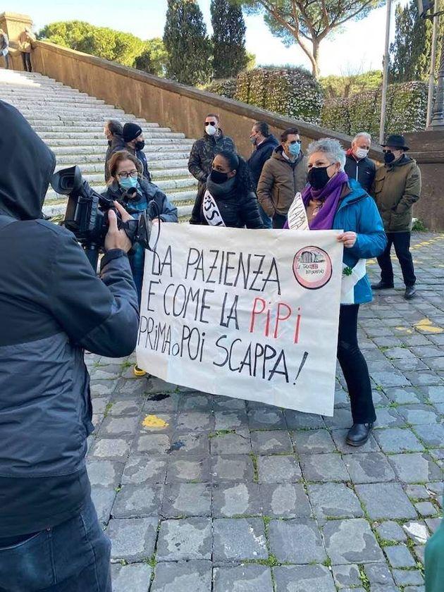 Fit-Cisl Lazio protesta a