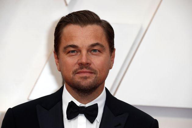 Leonardo Di Caprio sur le tapis rouge de la 92ème cérémonie des Oscars à...