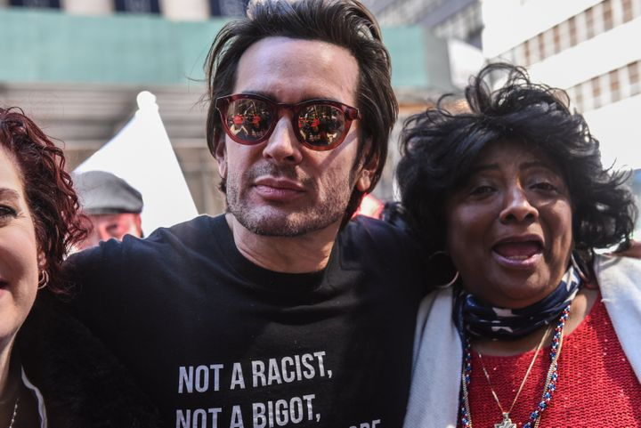 Brandon Straka attends a rally in support of President Donald Trump on March 23, 2019, in New York City.
