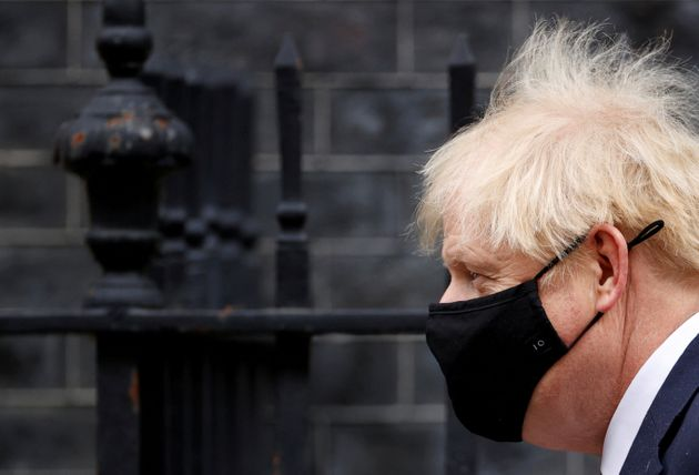 Le Premier ministre britannique Boris Johnson là Londres le 7 octobre