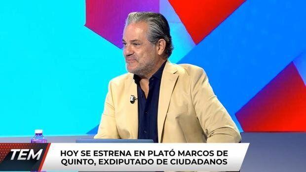 Marcos de Quinto en 'Todo es mentira'.