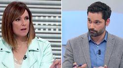 El áspero corte de Mónica López a un tertuliano de 'La hora de La 1' en pleno