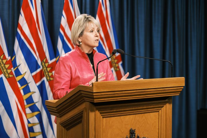 B.C. chief medical officer Dr. Bonnie Henry provides an update on COVID-19 on Jan. 25, 2021.