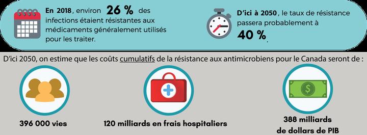 Résistance aux antimicrobiens au Canada.