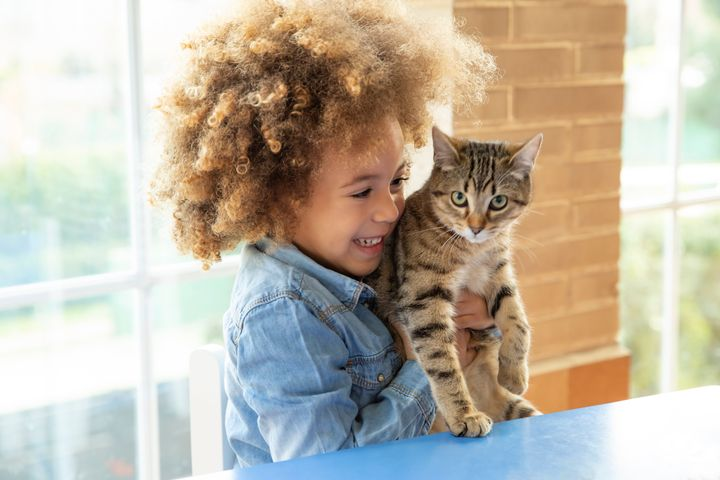 Kids can learn responsibility and empathy from taking care of pets.