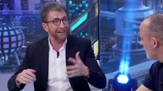 Pablo Motos en el plató de 'El