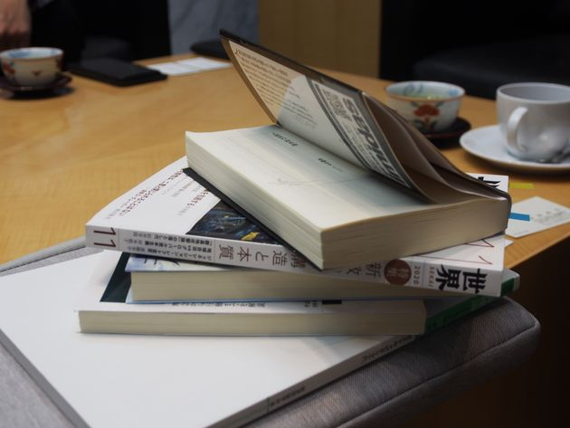 斎藤幸平さん執筆の「ジェネレーション・レフト宣言」が収録された雑誌『世界』