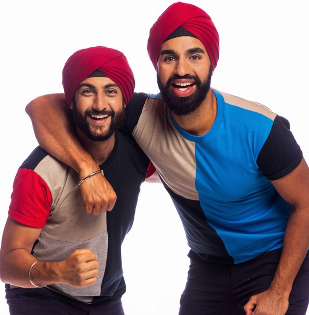 'The Amazing Race Australia' contestants Jaskirat Dhingra (left) and Anurag Sobti